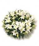 Classic Lily Wreath