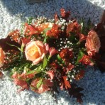 Autumnal Funeral Spray