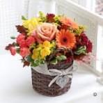 Autumn Glow Basket